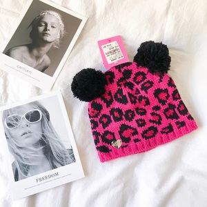 🌸SPRING CLEANOUT🌸Betset Johnson Pink Leopard Hat